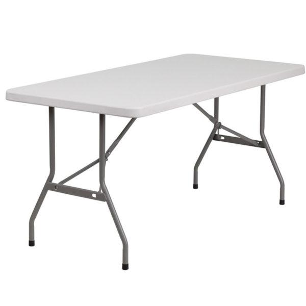 Location de table à Orléans : Table rectangulaire 183 cm